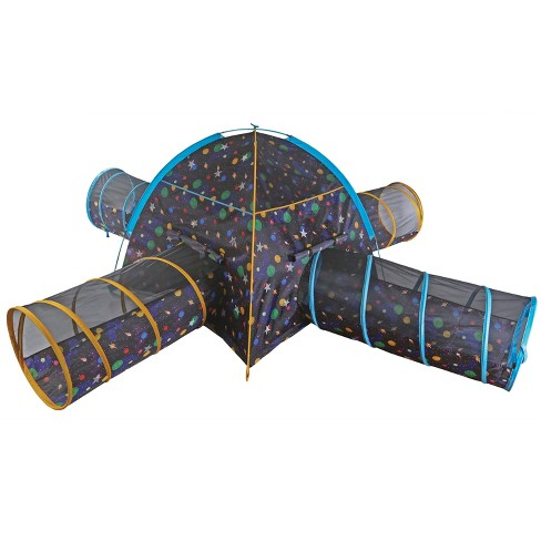 Pacific Play Tents Kids Glow In The Dark Galaxy Junction Play Tent And Tunnel Combo - image 1 of 4