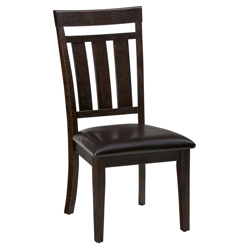 Kona Grove Upholstered Slatback Dining Chair Wood/Brown (Set of 2) - Jofran Inc.
