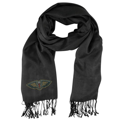 NBA New Orleans Pelicans Black Pashi Fan Scarf - image 1 of 1