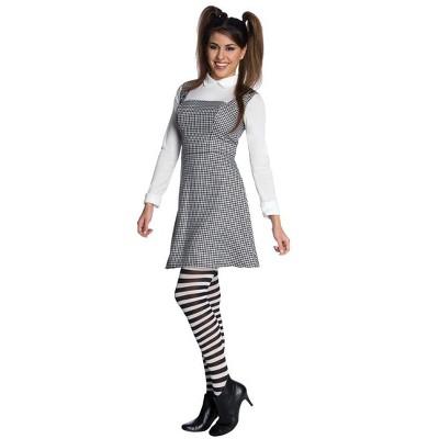 Frankenweenie Elsa Van Helsing Dress & Tights Costume Adult