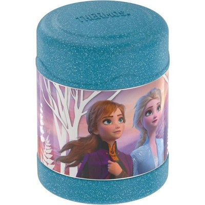 Thermos Stainless Steel 10 Oz Food Jar Frozen 2 - Blue Glitter