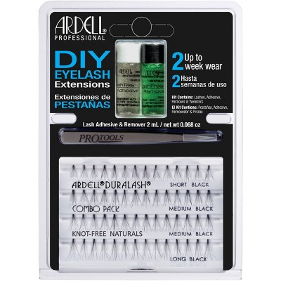Ardell Eyelash DIY Extensions Combo Pack Sh/Med/Long -  56ct