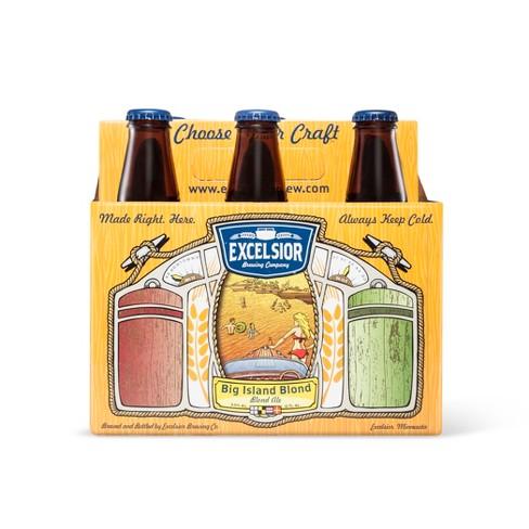 Excelsior Big Island Blond Ale Beer - 6pk/12 fl oz Bottles - image 1 of 1