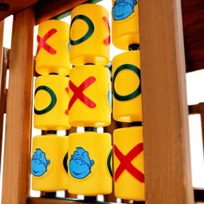 Gorilla Playsets Tic-Tac-Toe Spinner Panel Swing Set Accessory