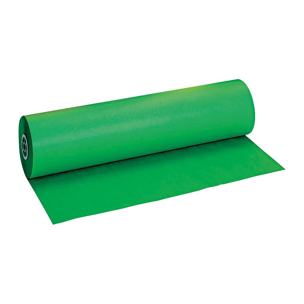 Pacon Duo-Finish Paper Roll, 40lbs - Green