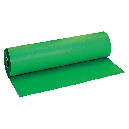 Pacon® Duo-Finish Paper Roll, 40lbs - Green - image 1 of 2