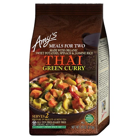 Amy's Frozen Thai Green Curry Meals for two - 18oz - image 1 of 1