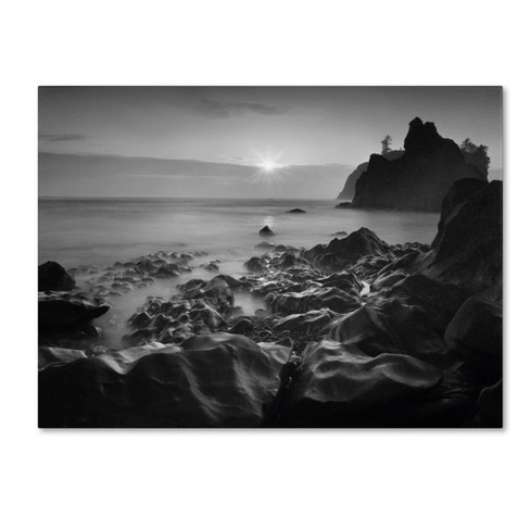 'Sunset At Ruby Beach' by Moises Levy Ready to Hang Canvas Wall Art - image 1 of 3