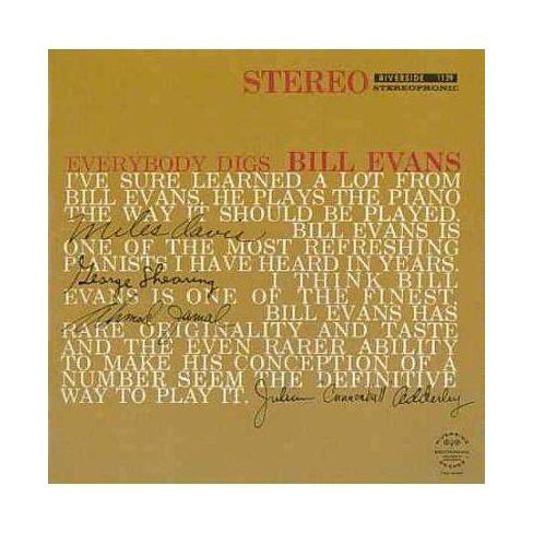 Bill (Piano) Evans - Everybody Digs Bill Evans (CD) - image 1 of 1