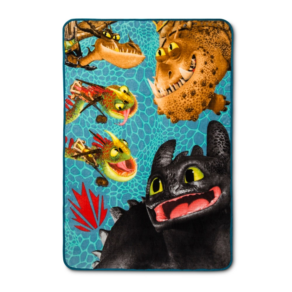 "Image of ""How to Train your Dragon 3 40""""x60"""" Throw Blanket"""