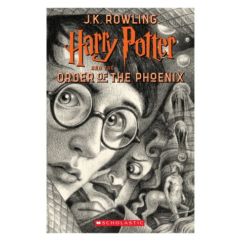 Harry Potter and the Order of the Phoenix -  (Harry Potter) by J. K. Rowling (Paperback) - image 1 of 1