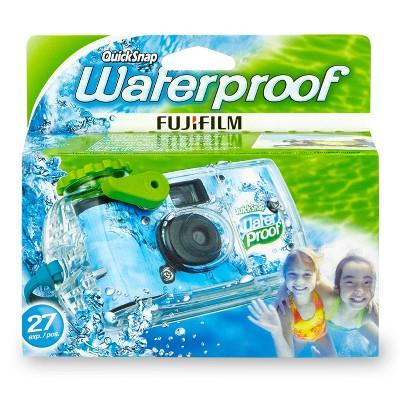 Fujifilm Quicksnap Waterproof Camera - Aqua Blue