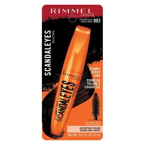 2230b3938f7 Rimmel ScandalEyes Volume Flash Mascara Extra Black : Target