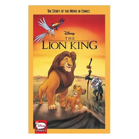 disney the lion king story of movie in comics paperback target