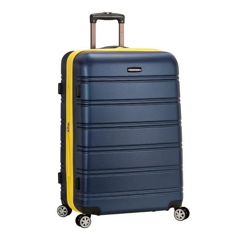 "Rockland Melbourne 28"" Expandable Hardside Spinner Suitcase - Navy - image 1 of 4"