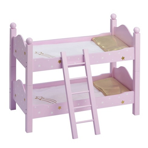 """Olivia's Little World - Twinkle Stars Princess 18"""" Doll Double Bunk Bed - image 1 of 4"""