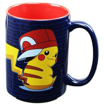 Just Funky Pokemon Pikachu Trainer 16oz Coffee Mug