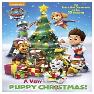 - A Very Puppy Christmas! (Paw Patrol) - (Color Plus Cardstock And Stickers)  (Paperback) : Target