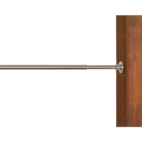 'Versailles Indoor/Outdoor Stainless Steel Duo Tension Rod - Brushed Nickel (48x68''), Size: 48-68'''