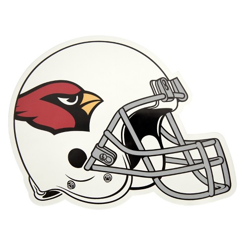 NFL Arizona Cardinals Large Outdoor Helmet Decal - image 1 of 1