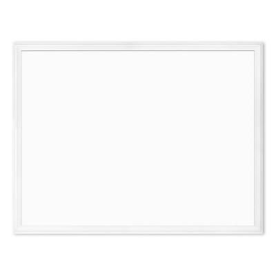 "U Brands 40""x30"" Magnetic Dry Erase Board White Decor Frame"
