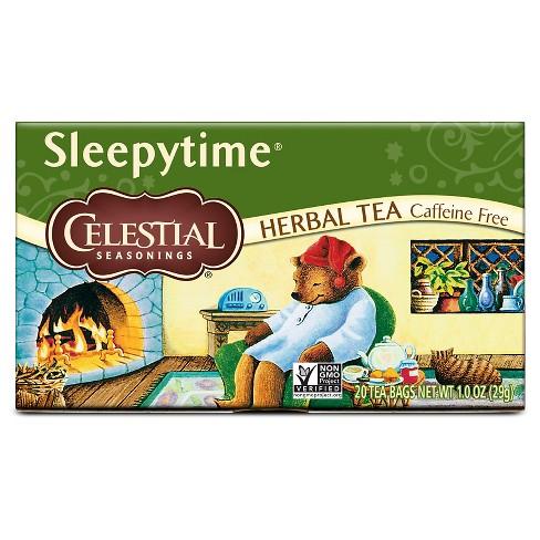 Celestial Seasonings Sleepytime Caffeine-Free Herbal Tea - 20ct - image 1 of 4