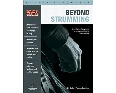 Beyond Strumming Acoustic Guitar Private Lessons Target