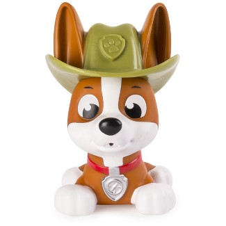 Paw Patrol, Bath Squirter, Tracker Jungle Pup Figure
