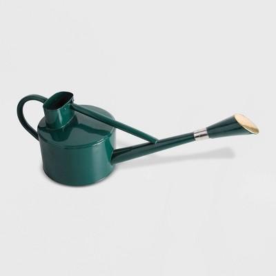 """9"""" Long Spout Steel Watering Can Green - Esschert Design"""
