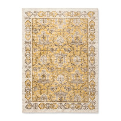 Yellow Ombre Design Tufted Area Rug 5'X7' - Threshold™