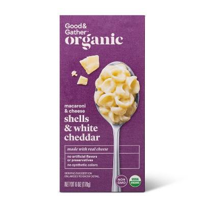 Organic Shells & White Cheddar Macaroni and Cheese - 6oz - Good & Gather™