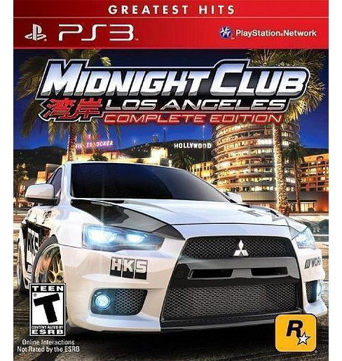 Midnight Club: Los Angeles Complete Edition PlayStation 3 - image 1 of 1