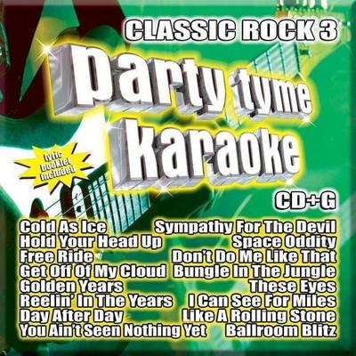 Party Tyme Karaoke - Classic Rock 3 (CD)