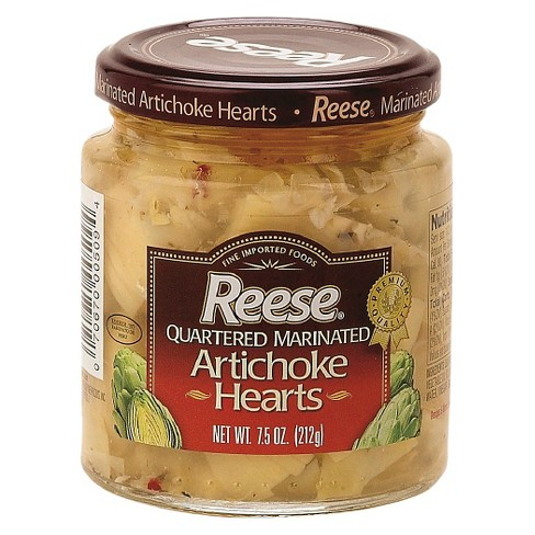 Reese's Quartered Marinated Artichoke Hearts 7.5 oz - image 1 of 1