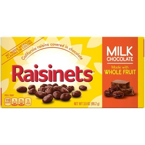 Raisinets Milk Chocolate Covered Raisins - 3.5oz - image 1 of 4