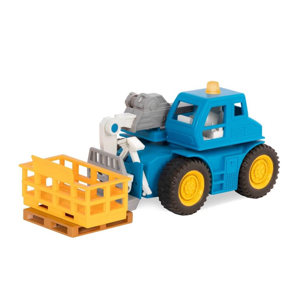 Driven 8211 Toy Forklift Truck 8211 Telehandler 8211 Micro Series