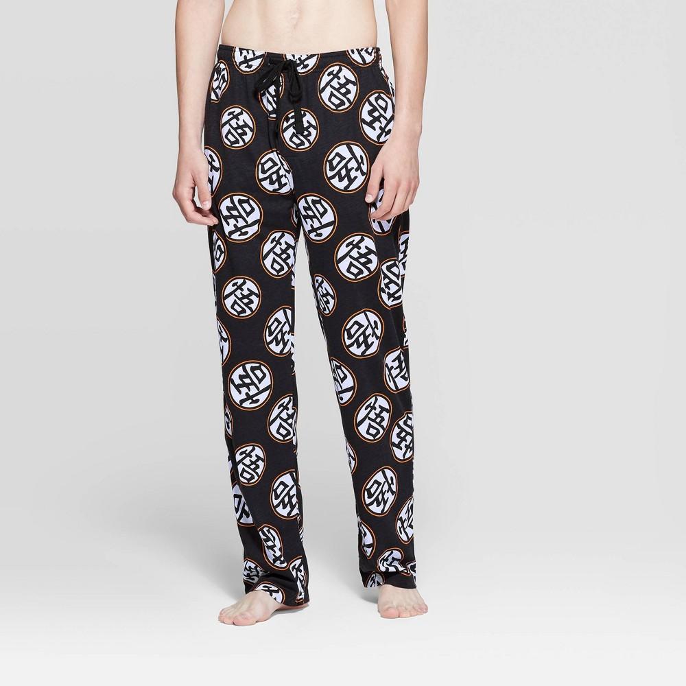 Image of Men's Dragon Ball Z Pajama Pants - Black L, Size: Large