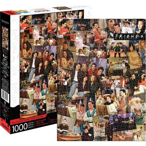 NMR Distribution Friends Collage 1000 Piece Jigsaw Puzzle - image 1 of 4