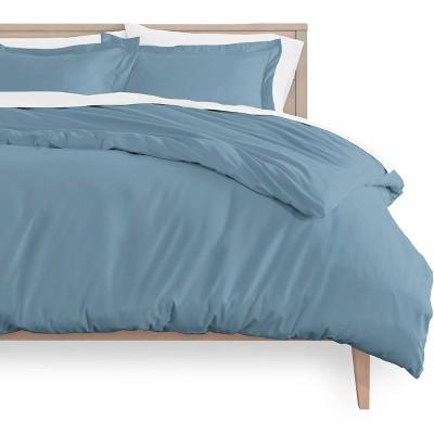 Bare Home Microfiber Duvet Cover and Sham Set