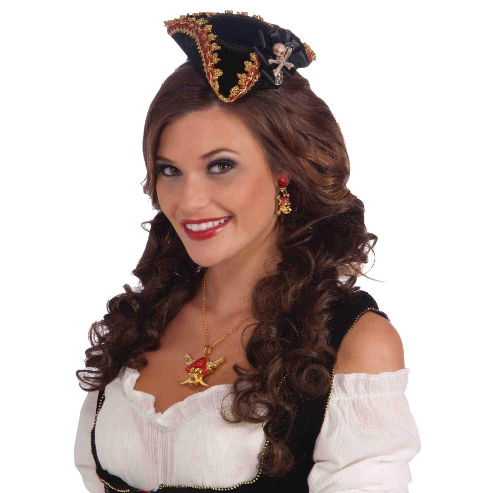 Best Online Lady Buccaneer Mini Hat With Skull Multi Colored