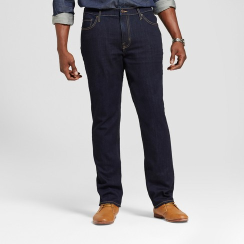 Men's Tall Skinny Fit Jeans - Goodfellow & Co™ Navy - image 1 of 4