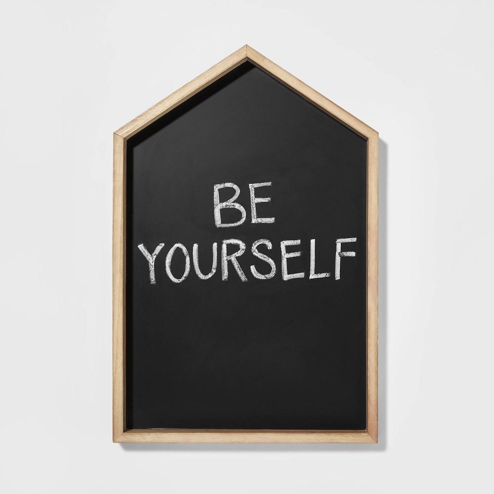 House Chalk Message Board Black Pillowfort 8482