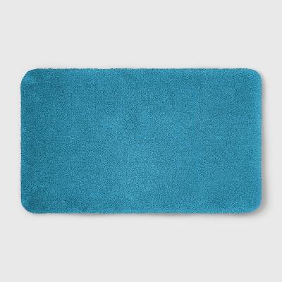 23 x37  Soft Nylon Solid Bath Rug Turquoise - Opalhouse™