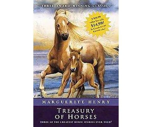 Marguerite Henry Treasury of Horses : Misty of Chincoteague / Justin Morgan Had a Horse / King of the - image 1 of 1
