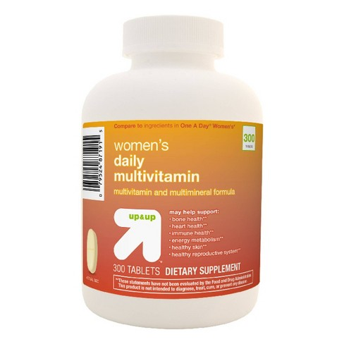 Women's Daily Multivitamin Tablets - Up&Up™ - image 1 of 2