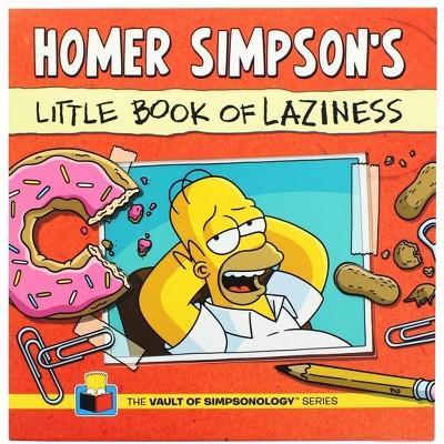 Nerd Block The Simpsons Homer's Little Book of Laziness (Vault of Simpsonology Series)