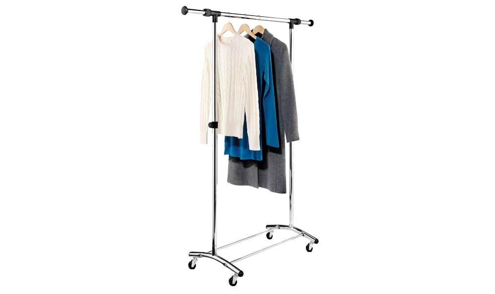Honey-Can-Do Commercial Garment Rack - Chrome