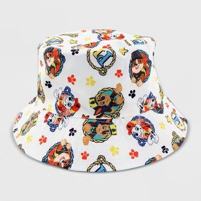 Toddler Girls' PAW Patrol Bucket Hat - White One Size