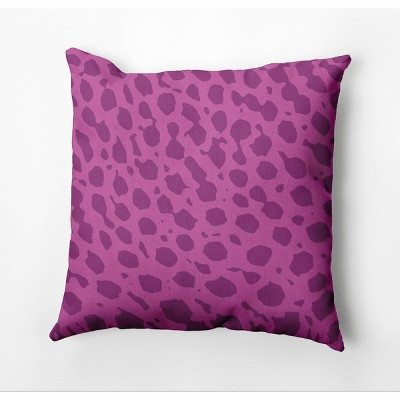"""18""""x18"""" Lots of Spots Square Throw Pillow - e by design"""