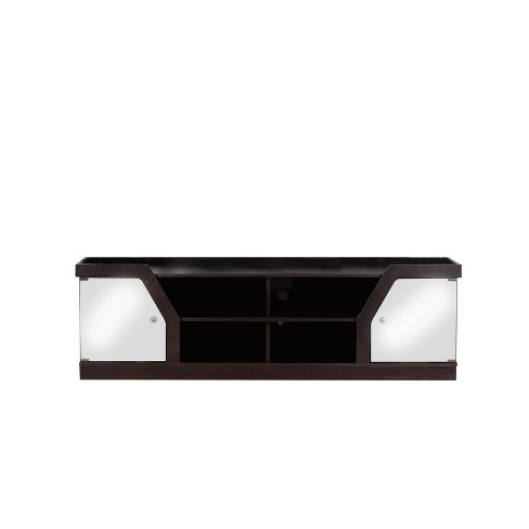 "4 Shelf 70"" TV Stand Espresso - HOMES: Inside + Out - image 1 of 3"